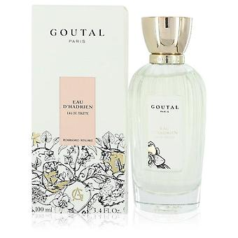 Eau d'hadrien eau de toilette refillable spray by annick goutal 552473 100 ml