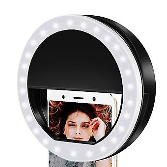 1pcs Ring Lights Led Circle Light, Cell Phone Laptop Camera Photography Vidéo