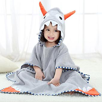 Children's Bath Towel, Cover Printed Baby Hooded Bathrobe