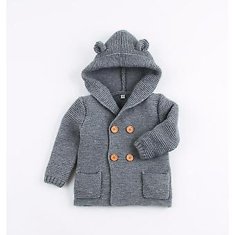 Winter Baby, Vestes Outfits, Warm Autumn, Sweaters, Long Sleeve Hooded Coat