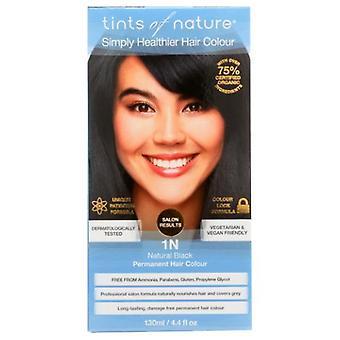 Tints of Nature Permanent Hair Color, 1N Natural Black 4.4 Oz