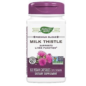 Nature's Way Milk Thistle Gestandaardiseerd Extract, EXTRACT, 60 CAP