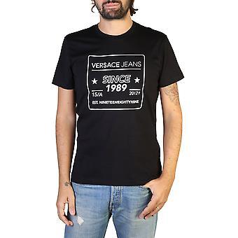 Versace jeans b3gtb76e men's korta ärmar t-shirt