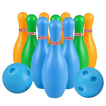 Bowling Toys Plastic Gutterball, Educational Funny Bowling Pins Jouets,