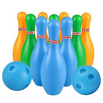 Bowling Plastic Gutterball, Bolos Educativos Para, Niños Pequeños