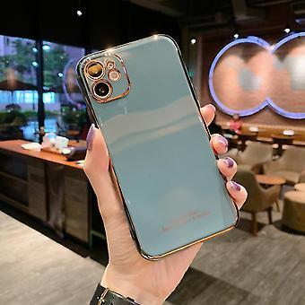 iPhone 12 Pro Max Shell Laser leikattu iskunvaimennin monivärinen kulta