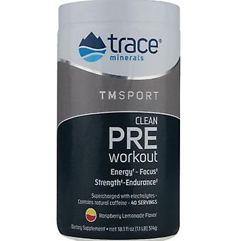 Trace Minerals Clean Pre Workout 514 gr