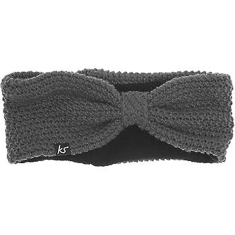 Kitsound Knitted Bow Audio Headband with Built-In Headphnes Speaker