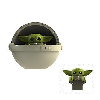 Baby Yoda - Rakennuspalikat Palikat Lelu