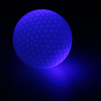 الاصطناعية المطاط جولف قاد الكرة مضيئة