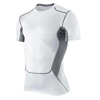 Men Compression Under Base Layer Top Tight Short Sleeve T-shirt Sport