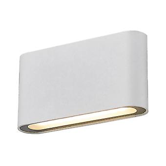 Lampe murale LED moderne Blanche, Blanc Chaud 3000K 700lm