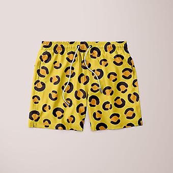 Tiger pattern shorts