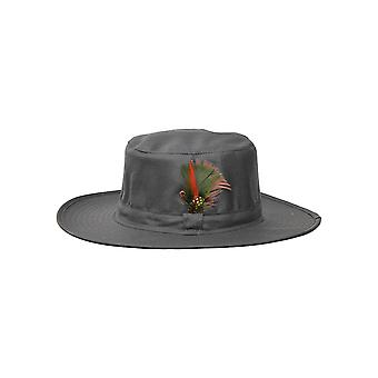 Walker and Hawkes - Unisex Waxed Hat with  Wide Brim