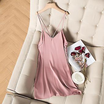Casual Kimono Bathrobe Gown Nightgown Sexy Nightwear For Female Intimate