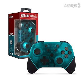 NuChamp Wireless Game Controller Voor Nintendo Switch/Lite (Turquoise)