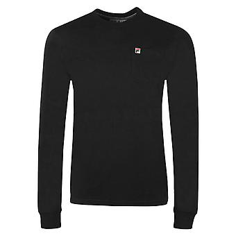 Fila Thames Long Sleeve T-Shirt Black 46