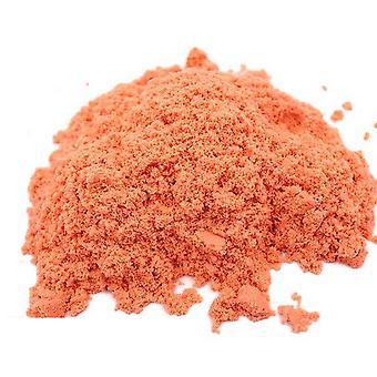 Soft Slime Space Sand Play Toys Model Tools Play Sand Antistress Toys Set Orange