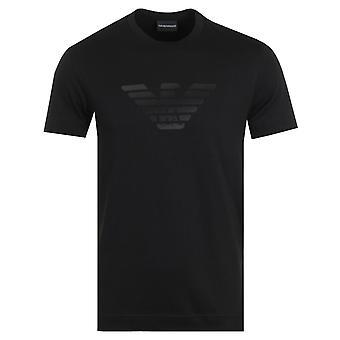 Emporio Armani Dot Logo T-Shirt - Black