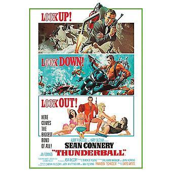 James Bond Thunderball Postcard