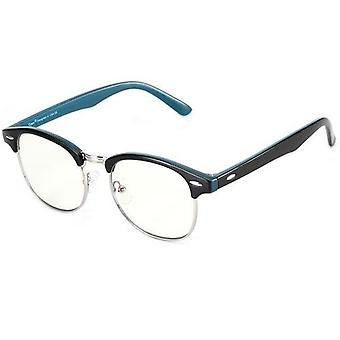 Anti Blue Light Computer Glasses Semi-rimless Browline Frame For Anti