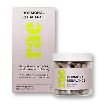 Rae Hormonal Rebalance Dietary Supplement Capsules