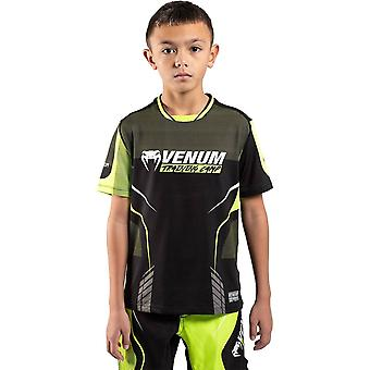 Venum Training Camp 3.0 Kids Dry Tech T-Shirt Noir/Neo Jaune