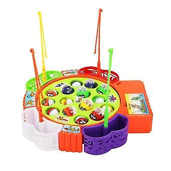 Jogo de pesca rotativo musical
