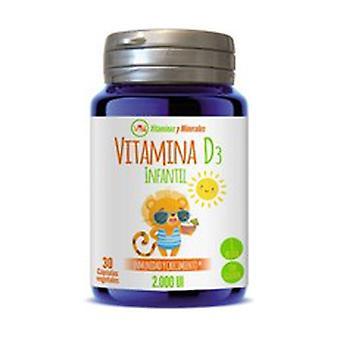 Children's Vitamin D3 (2,000 IU) 30 vegetable capsules