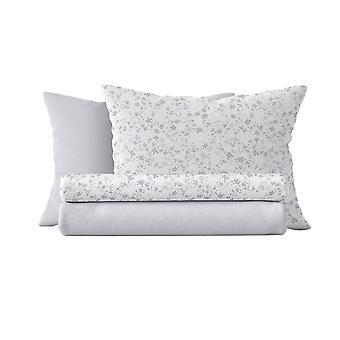 Mandy Bed Suit Couleur blanche, Violet coton, L150xP280 cm, L90xP195, L50xP80 cm
