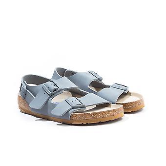Birkenstock Milano Birko-Flor Sandals - Desert Grey