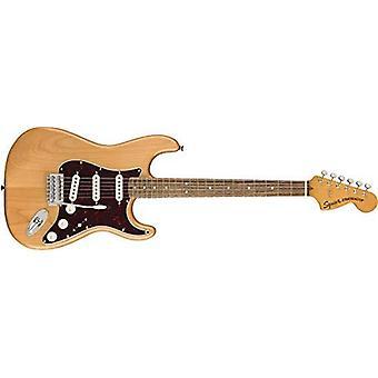 Squier af fender klassiske vibe 70's stratocaster elektrisk guitar - laurbær fingerboard - naturlige