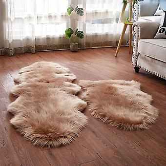 Sholisa Faux Fur Fluffy Carpet Rug For Living Room Floor Area