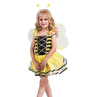 Carnaval Halloween Cosplay Costume Party Stage Costume Girl Cute Little Bee Suit