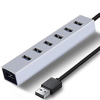 Séparateur USB hub haute vitesse 3.0 avec ports 4/7 pour windows et macbook