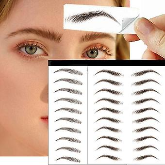 Pegatinas de cejas auténticas similares al pelo