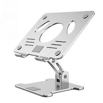 Computer desktop bracket foldable lifting aluminum alloy bracket