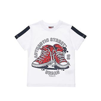 Alouette Boys' T-Shirt With Sneakers Design