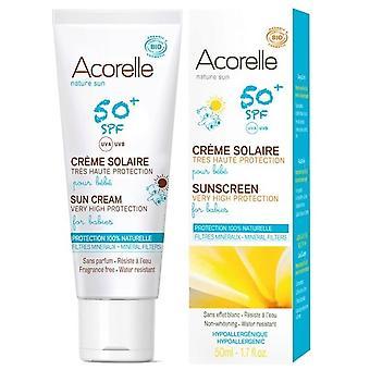 Acorelle Baby Solcreme Spf 50 + af 50 ml