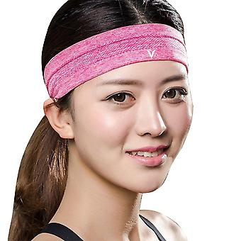 Veidoorn 1pcs Sweatband Moisture-wicking Breathable Men Women Sports Elastic