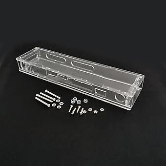 Boîte transparente de stockage de boîtier protecteur de coquille