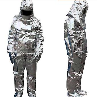 1000 Degree Thermal Radiation Heat Resistant Firefighter Uniform /approach Suit