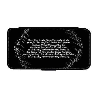 Black Speech Samsung Galaxy A52 5G Wallet Case