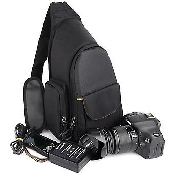 عارضة في الهواء الطلق حقيبة كاميرا مثلث كتف واحد لحقيبة كاميرا نيكون