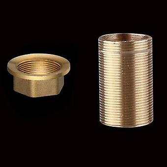 Copper Kitchen Sink Hot And Cold Faucet Accessories Base Fixed Foot Screw Nut