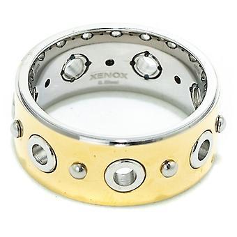 Dames' Ring Xenox X1485g Goud
