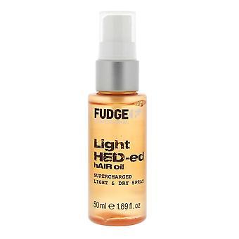 Fudge Professional Light Hed-ed Hair Oil 50ml Superladdad och Lätt torr spray