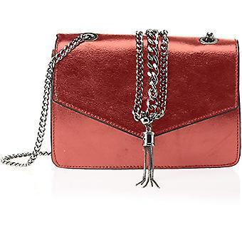 Bag Gem Bags 1622, Women's Shoulder Bag, Red, 22x16x6 cm (W x H x L)