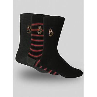 Luke 1977 Bish Sock Set - Black