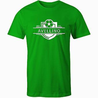 Avellino 1912 perustettu merkki jalkapallo t-paita